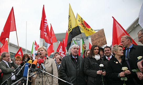 Demonstration in Berlin am 14.3.